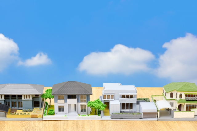 新築分譲住宅の特徴は?他にどのような種類の戸建てがある?