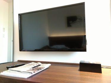 新築のインテリアとしても最適!?テレビは壁掛けにしよう!