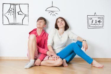 1LDKで快適な二人暮らしを送るには家具選びと配置に注意!