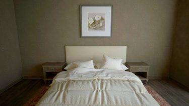 1LDKの寝室を快適にレイアウト!ベッド配置のコツとは?