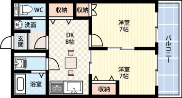 2DKに住みたい!東京で2DKの賃貸の家賃相場はどれくらい?